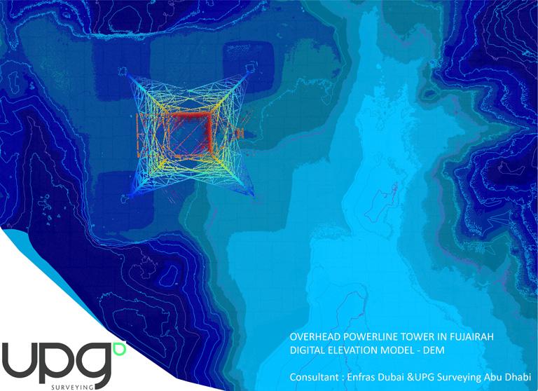 UPG surveying Abu Dhabi